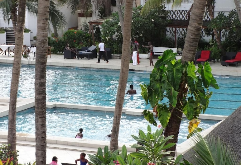 Hotel du Port, Cotonou, Piscina