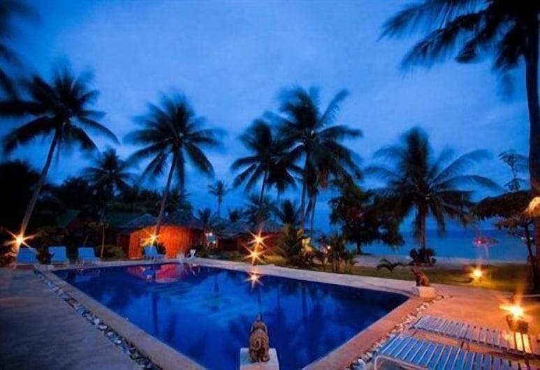 ザ リラックス ビーチ リゾート, Ko Pha-ngan, 屋外プール