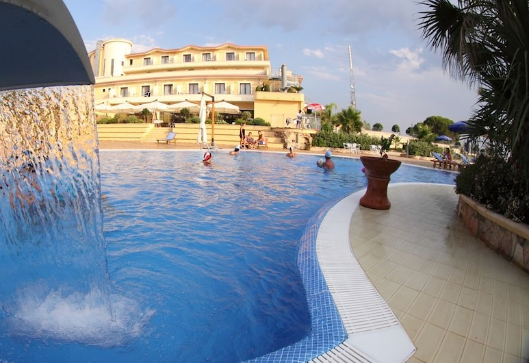 La Felce Imperial Hotel, Диаманте, Открытый бассейн