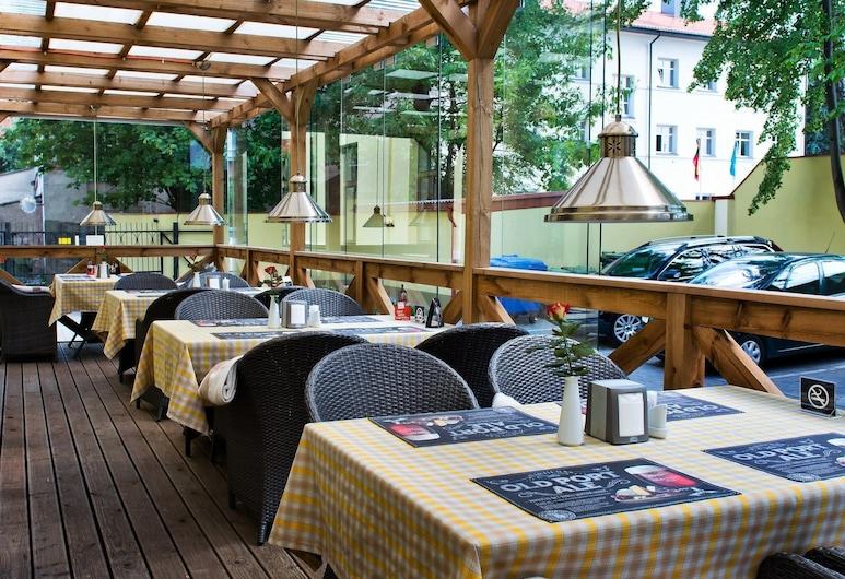 Memel Hotel, Klaipeda, Terrace/Patio