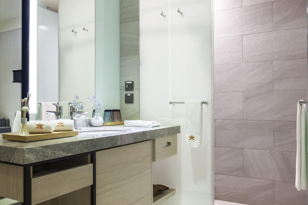 Jednolůžkový pokoj typu Business - Koupelna