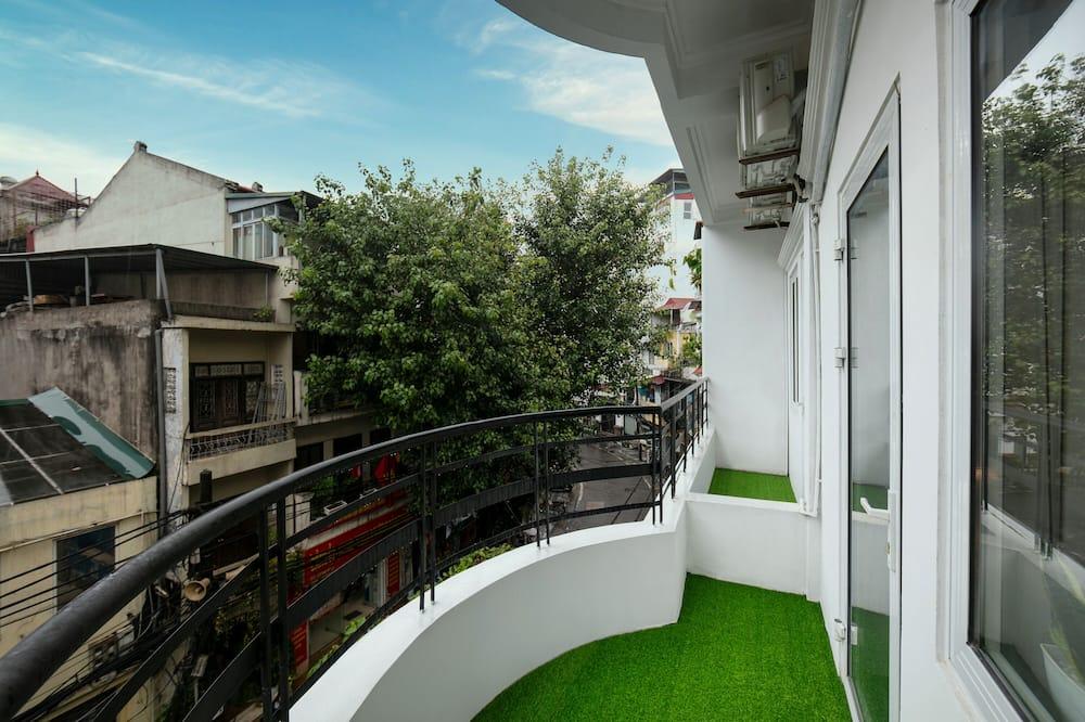 Liukso klasės kambarys (Family) - Vaizdas iš balkono