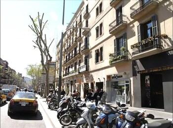 Bild vom Hostal Delfos in Barcelona