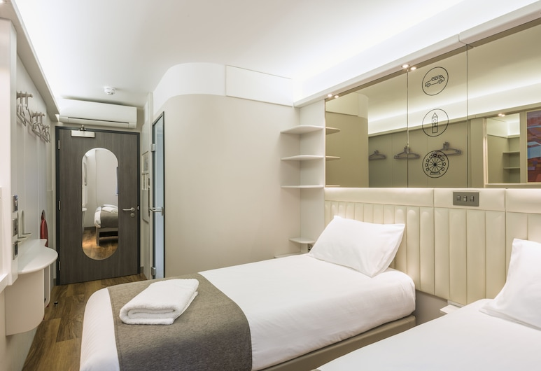 Point A Hotel - Westminster, London, London, Twin Room, Guest Room