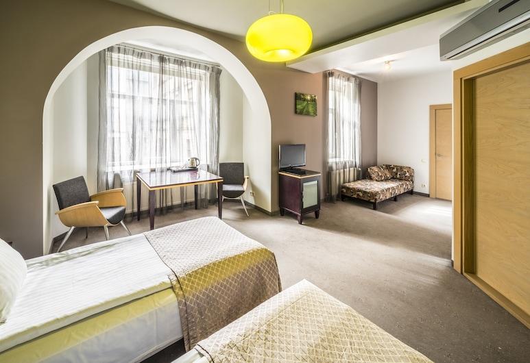 雷西威爾陽台設計飯店, 里加, 高級雙人或雙床房, 客房