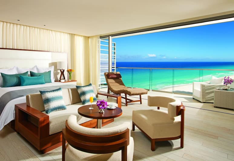 Secrets The Vine Cancun - All Inclusive - Adults Only, Cancun, Preferred Club Junior Suite Ocean View, Guest Room