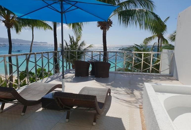 보라카이 오션 클럽, Boracay Island, Ocean View Suite, 테라스/파티오