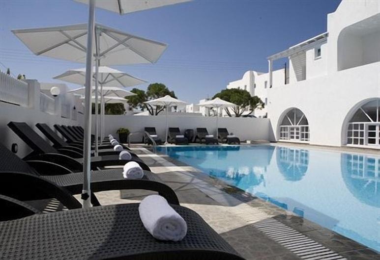 費利皮翁精品酒店, 聖托里尼, 室外泳池