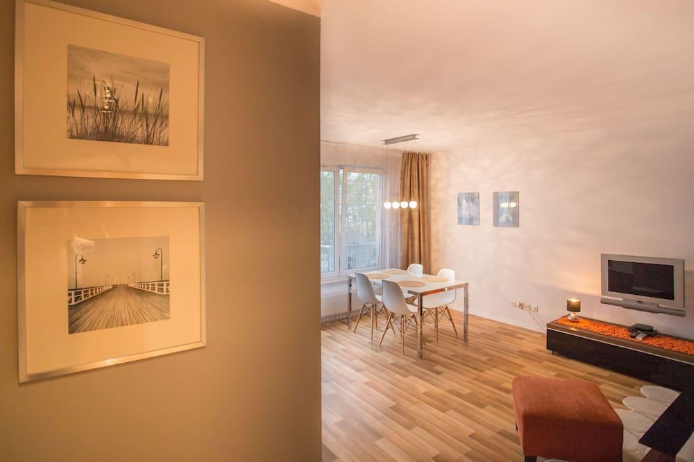 Apartament typu Comfort, widok na ogród - Salon