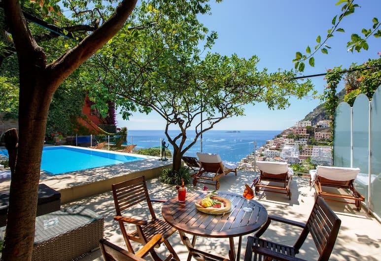 Villa Fiorentino, Positano, Ääretön uima-allas
