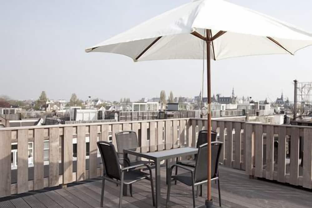 Apartemen Standar, 2 kamar tidur, dapur, pemandangan kota - Teras/Patio