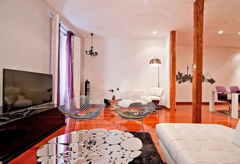 SmartRental Atocha , Madryt, Apartament, 2 sypialnie (2 bathrooms), Salon