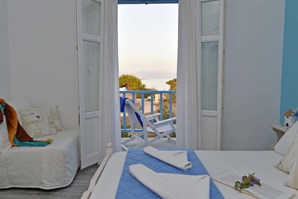 Classic Apartment, 1 Double Bed with Sofa bed, Sea View, Sea Facing - Room