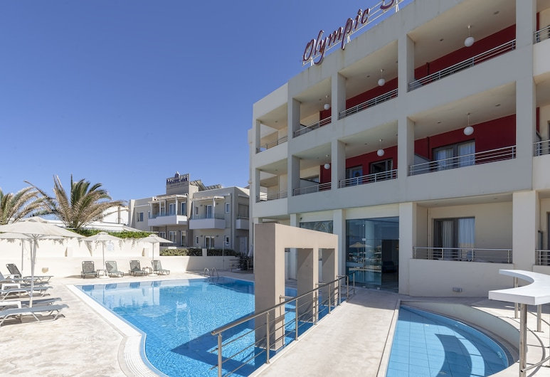 Olympic Suites Hotel Apartments, Rethymno, Pool
