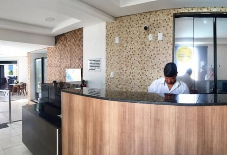 Hotel Algas Marinhas, Aracaju, Reception