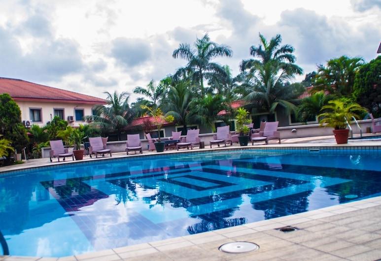 Juanita Hotel, Port Harcourt, Lauko baseinas