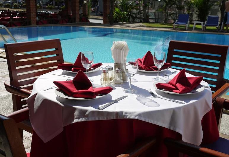 The Residence Garden, Pattaya, Khu ẩm thực ngoài trời