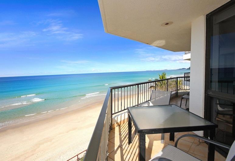 Spindrift on the Beach, Мермейд-Бич, Апартаменты, 2 спальни, с выходом к океану, Балкон
