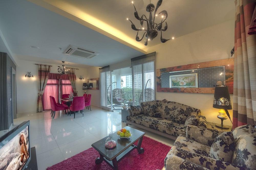 Prezidentské apartmá, 2 ložnice - Obývací prostor