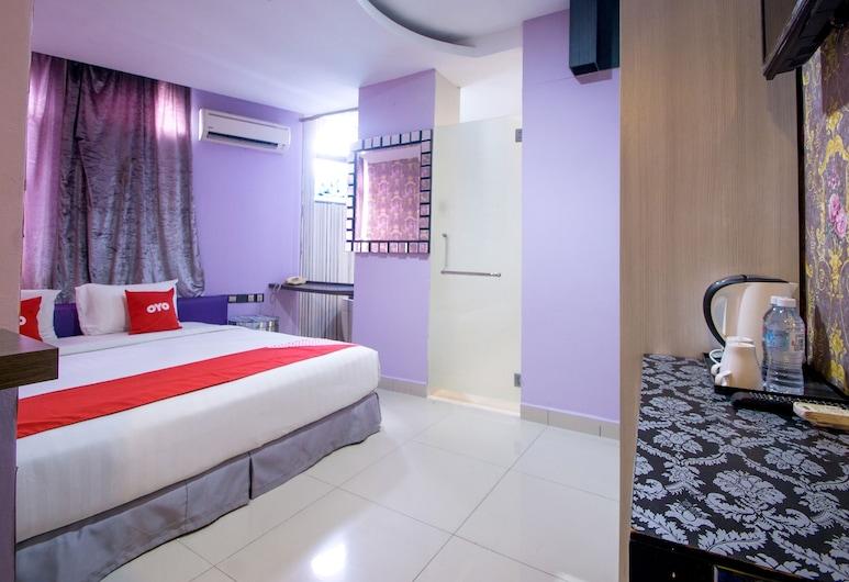 OYO 89494 Max Star Hotel, Kuala Lumpur, Premium Double Room, 1 King Bed, Guest Room