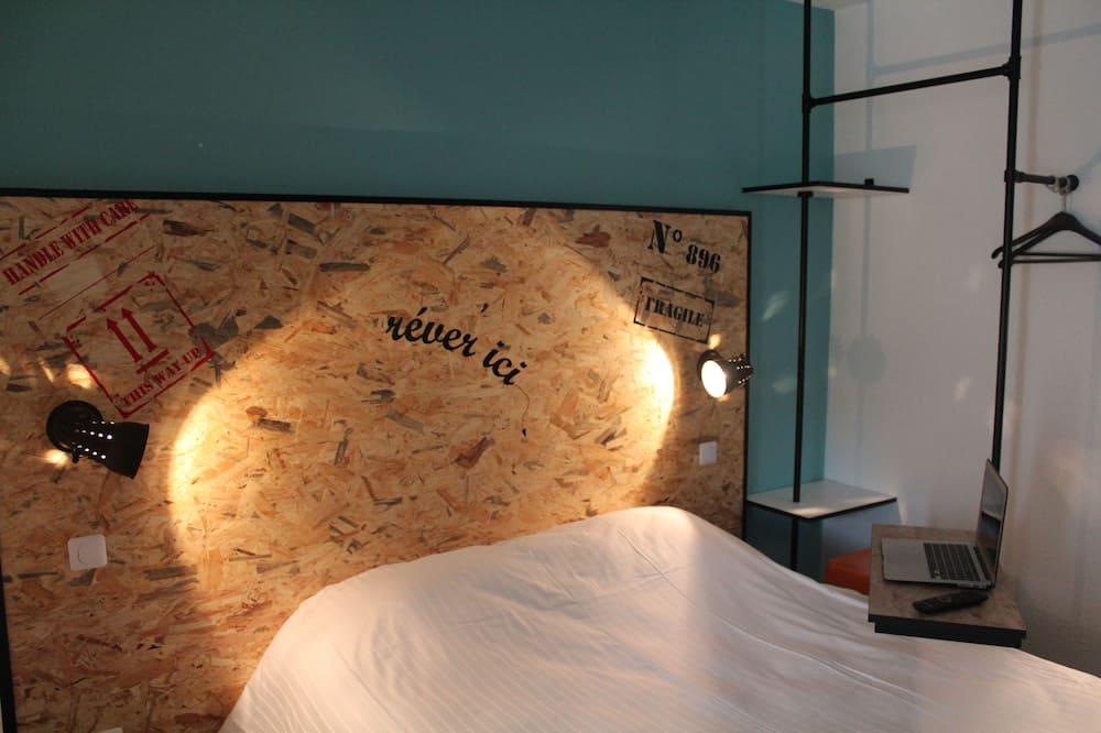 viena dvigulė lova - Svečių kambarys