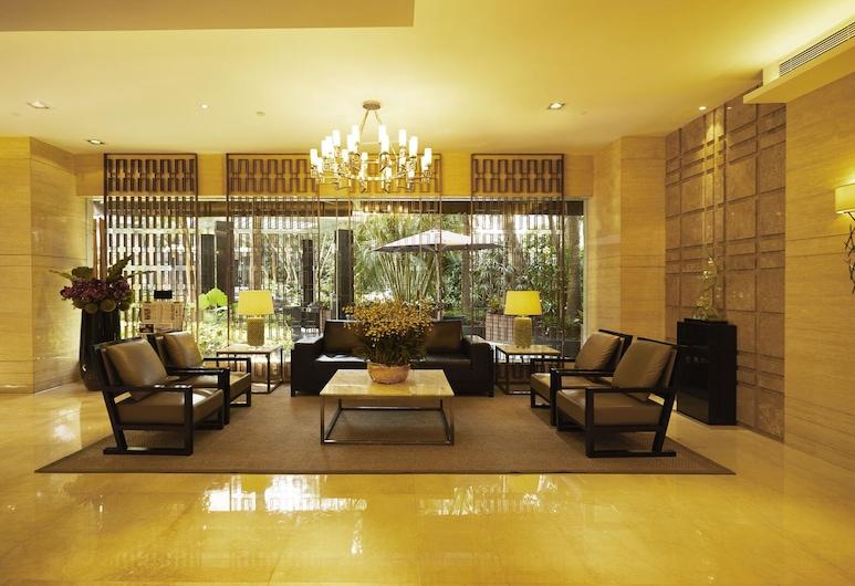 Shenzhen New World Metro Grand Hotel, Shenzhen, Priestory na sedenie v hale