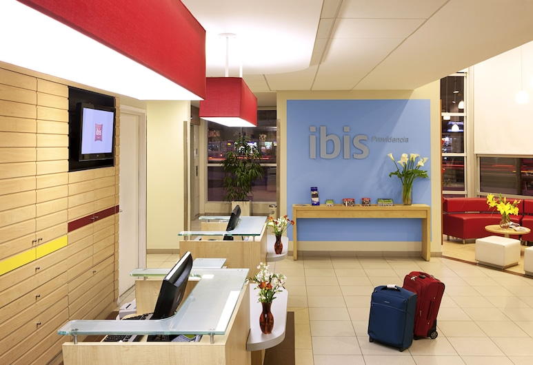 Hotel ibis Santiago Providencia, Santiago, Aspecto interior del hotel