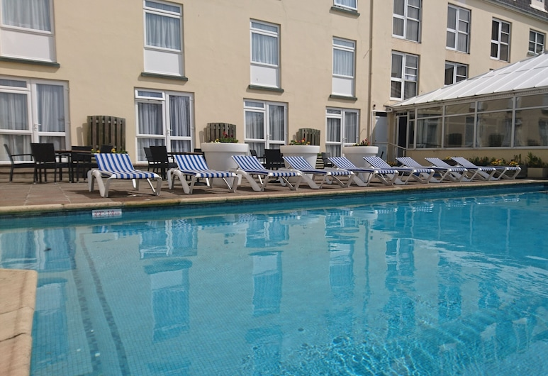 The Monterey Hotel, Sure Hotel Collection by Best Western, St. Saviour, Außenpool