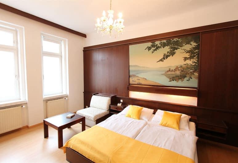 CheckVienna Edelhof Apartments, Viena, Apartamento família, Quarto