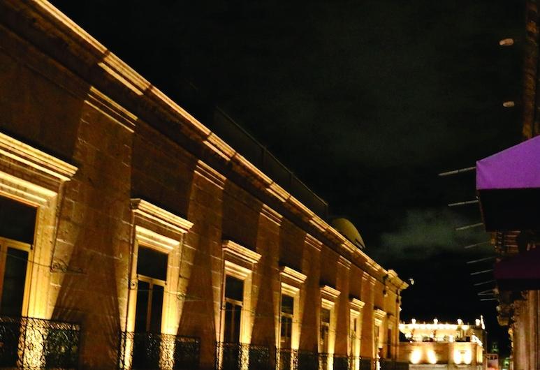 Hotel Historia, Morelia, Vchod do hotela