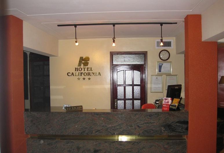 加州酒店, 聖克魯斯, 櫃台