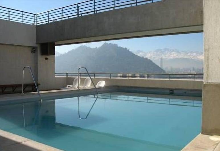 AMS アパートメンツ モンヒタス, サンティアゴ, 屋外プール