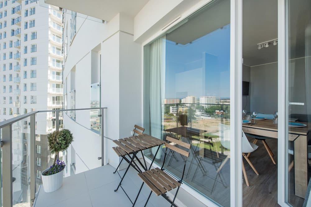 Deluxe-lejlighed - 1 soveværelse - balkon (Rakoczego 9 street) - Altan