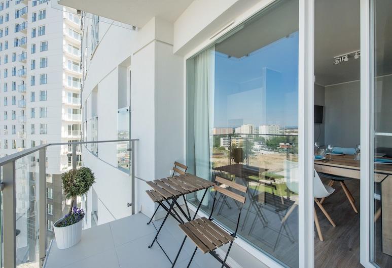 Apartinfo Apartments - Morena, Gdansk, Deluxe Apartment, 1 Bedroom, Balcony (Rakoczego 9 street), Balcony