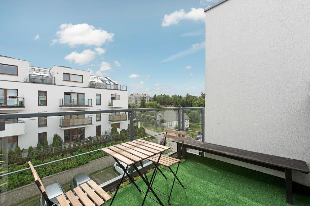 Deluxe-lejlighed - 1 soveværelse - balkon (Mysliwska 22 street) - Altan