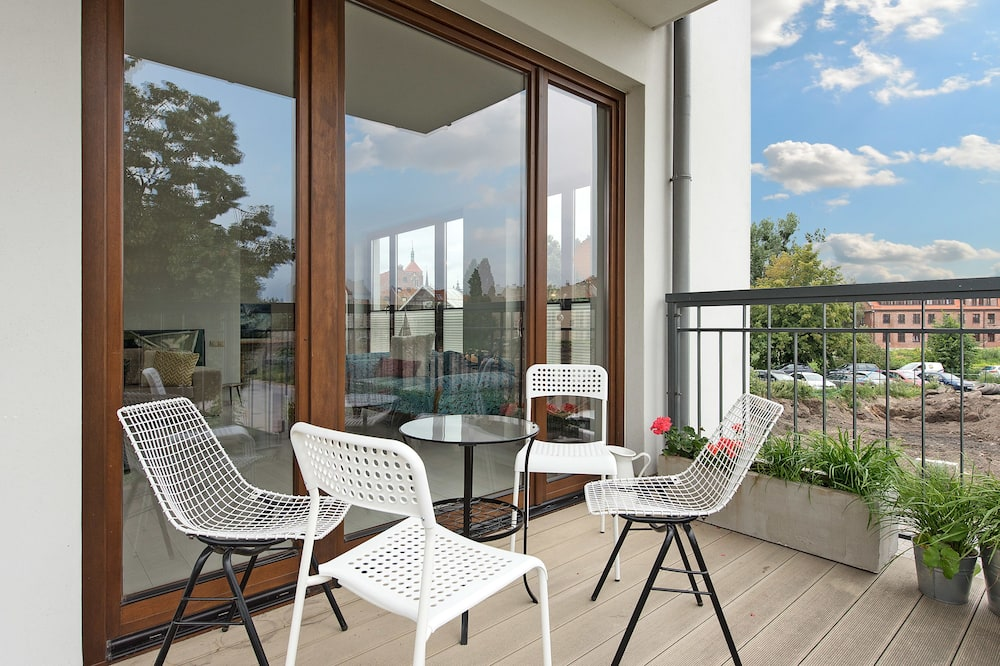 Appartement Luxe, 2 chambres, balcon (6 Adults) - Balcon