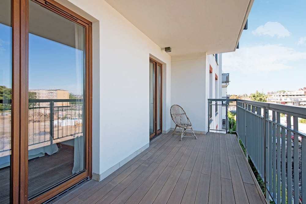 Appartement Deluxe, 2 chambres, balcon ((4 Adults) 53) - Balcon