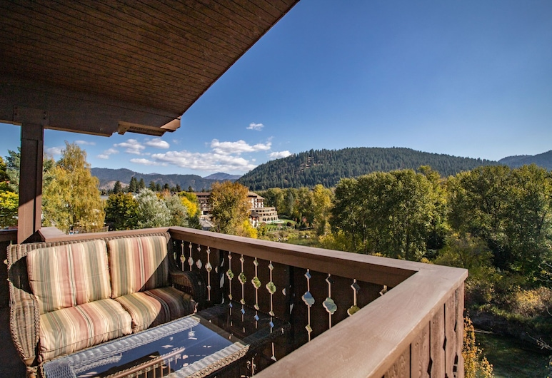 Obertal Inn, Leavenworth, Balkon