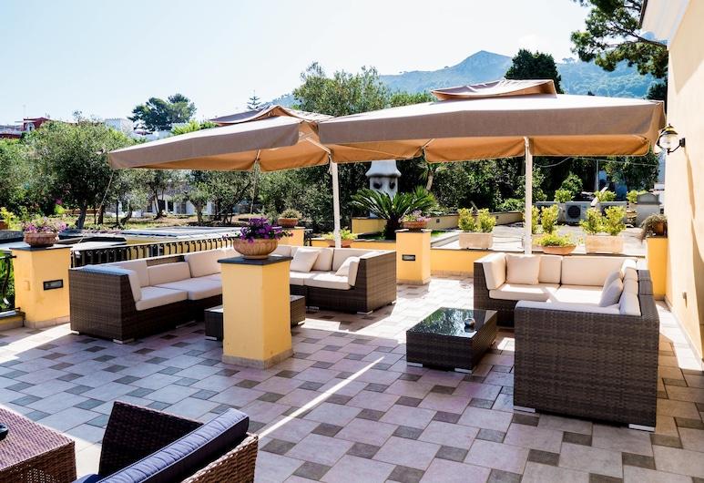 Villa Ceselle, Anacapri, Hiên