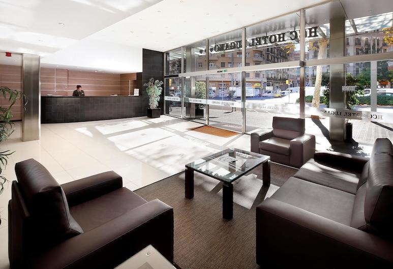 Hotel HCC Lugano, Barcelona, Lobby