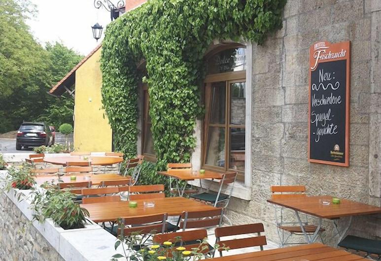 Hotel Fischzucht, Wuerzburg, Dinerruimte buiten