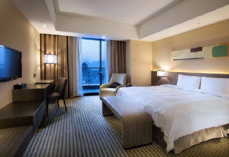 Park City Hotel Luzhou Taipei, Naujasis Taipėjus, Liukso klasės dvivietis kambarys, 1 standartinė dvigulė lova, balkonas, Svečių kambarys