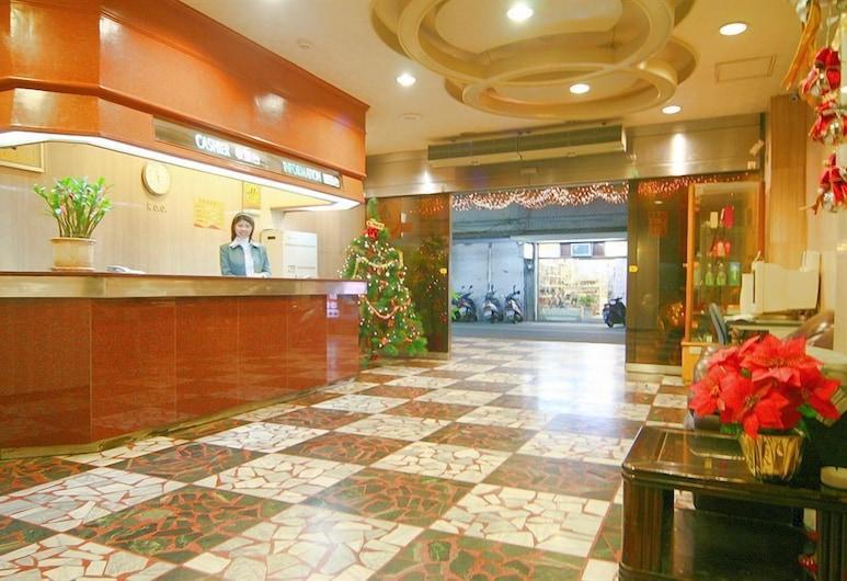 Traveler Hotel, Taitung, Resepsiyon