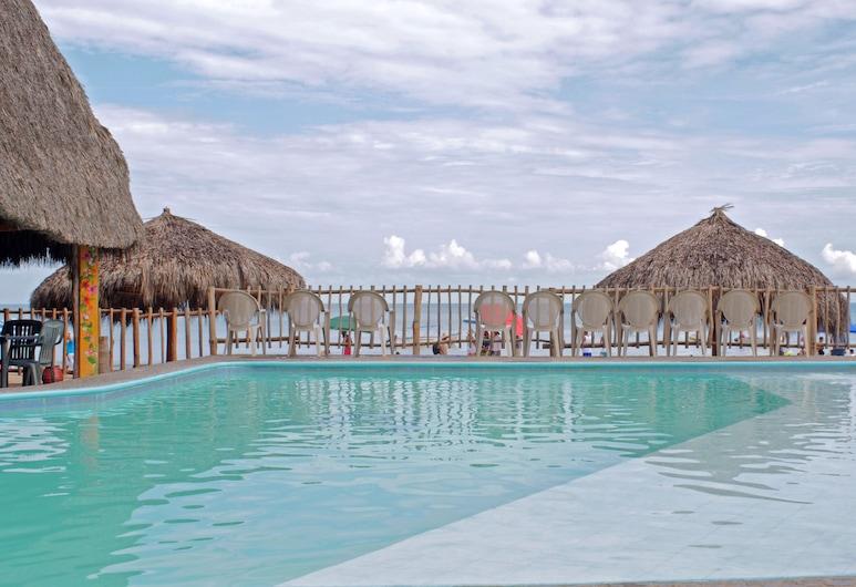 Las Cabanas Del Capitan, Rincón de Guayabitos, Alberca al aire libre