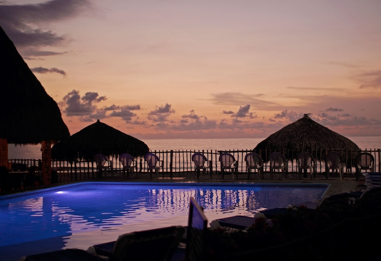 Las Cabanas Del Capitan, Rincón de Guayabitos, Piscina al aire libre