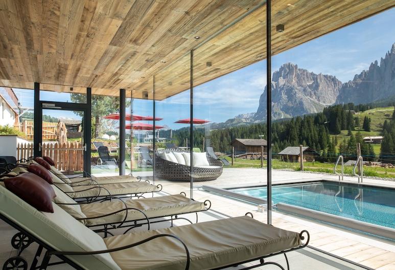 Hotel Saltria - true alpine living, Castelrotto, Piscine couverte