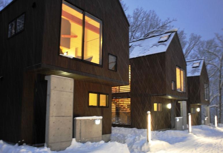 Gakuto Villas, Hakuba, Fassade der Unterkunft – Abend/Nacht