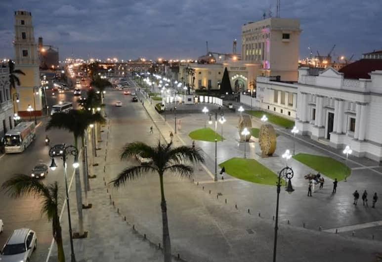 Hotel Oriente, Veracruz, Otelden görünüm