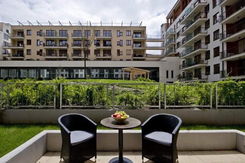 Executive-huoneisto, 2 makuuhuonetta - Terassi/patio