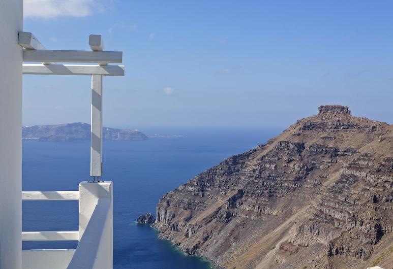 Galini Hotel, Santorini, Kamar Deluks, pemandangan laut, Kamar Tamu